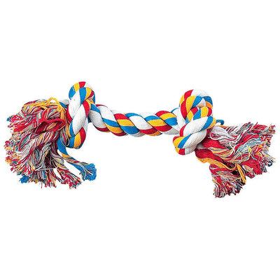 Zanies Rope Bone - Multicolor