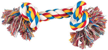 Pet Pals Zanies 2 Knot Big Dog Rope Bone Toy
