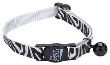 Petedge ZA1210 08 12 ESC Animal Print Cat Collar 8-12 In Zebra
