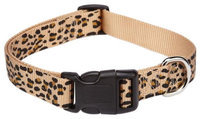 Petedge ZA1516 14 10 ESC Animal Print Collar 14-20 In Cheetah