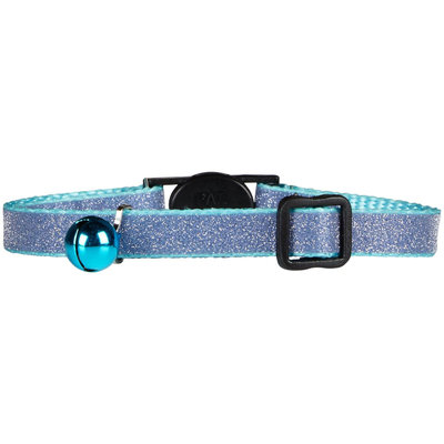 East Side Collection Glitz Cat Collar Blue