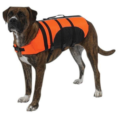 Petedge ZM954 08 69 GG Aquatic Pet Preserver Xxs Orange