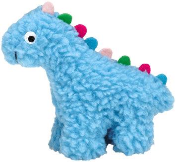 Grriggles Fresh Water Berber Dino Dog Toy SM BLU