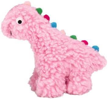 Grriggles Fresh Water Berber Dino Dog Toy SM PNK