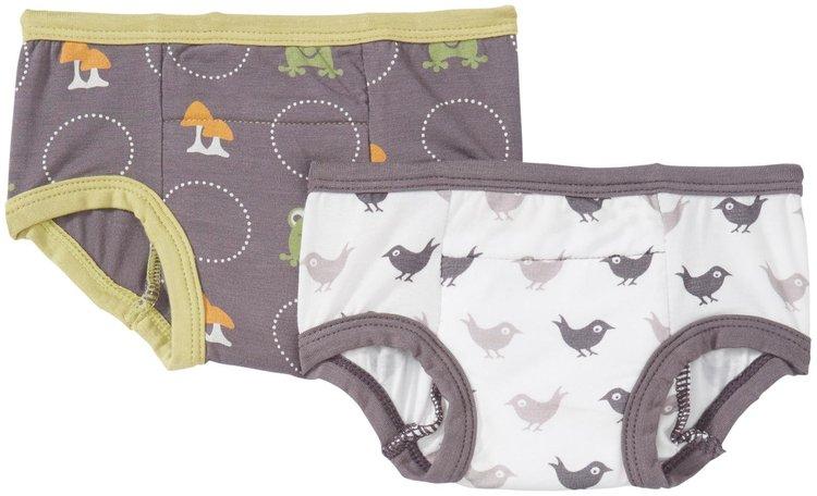 Kickee Pants Training Pants Set (Toddler/Kid) - Blackbird/Toad - 1 ct.