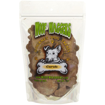 Woof Waggers Carob Dog Treats - 7oz