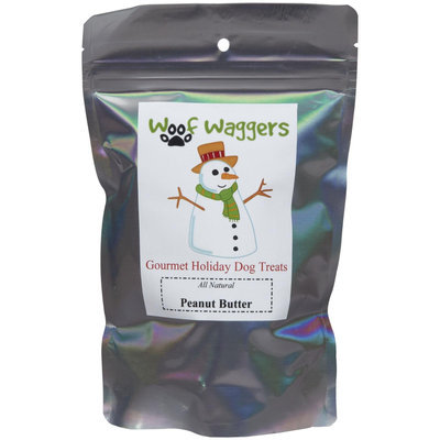 Woof Waggers Holiday Peanut Butter Treats