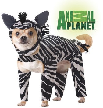 California Costume Collections California Costume - Zebra Dog Costume - X-Small