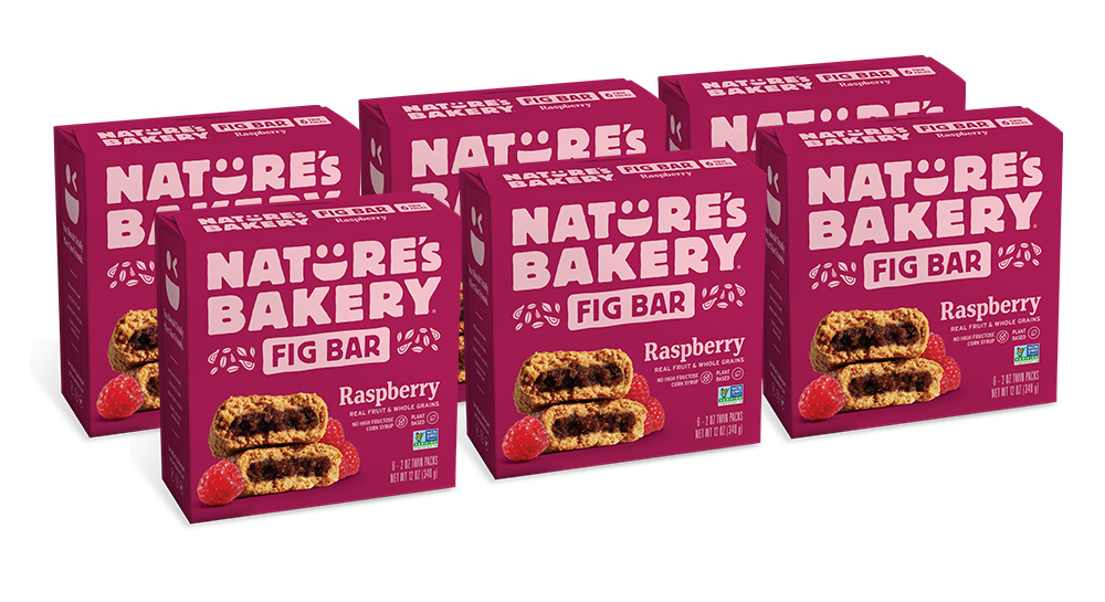 36 PACKS : Nature's Bakery Whole Wheat Fig Bar, Vegan + Non-GMO, Raspberry (36 Count)