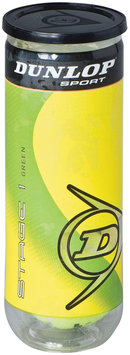 Dunlop Sports Stage 1 Green Tennis Balls