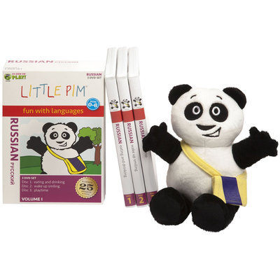 Little Pim Russian for Children- Discovery Language Set - 1 ct.