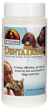 Wysong DentaTreat Dog Dental Care, 10 oz.