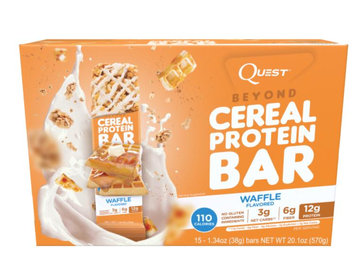 QUEST NUTRITION Cereal Protein Bar Waffle Flavor
