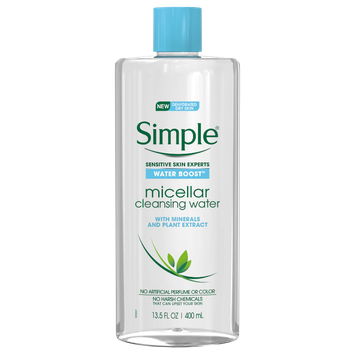 Simple® Water Boost™ Micellar Cleansing Water