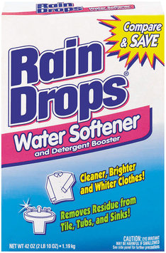 ARM & HAMMER™ RainDrops™ Water Softener and Detergent Booster