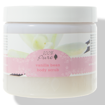 100% Pure Body Vanilla Bean Body Scrub
