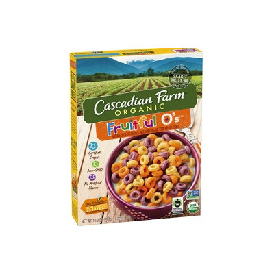 Cascadian Farm Organic Fruitful O's Cereal