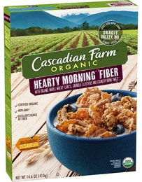 Cascadian Farm Organic Hearty Morning Fiber Cereal