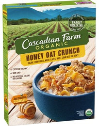 Cascadian Farm Organic Honey Oat Crunch Cereal