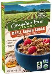 Cascadian Farm Organic Maple Brown Sugar Granola