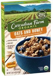 Cascadian Farm Organic Oats and Honey Granola