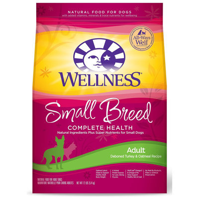 Wellness Complete Health Small Breed Natural Dry Dog Food