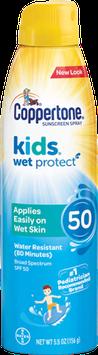 Coppertone® KIDS Wet'n Clear® Sunscreen Spray
