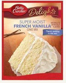 Betty Crocker™ Super Moist™ Delights French Vanilla Cake Mix
