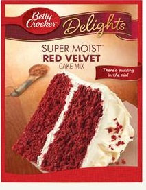 Betty Crocker™ Super Moist™ Delights Red Velvet Cake Mix