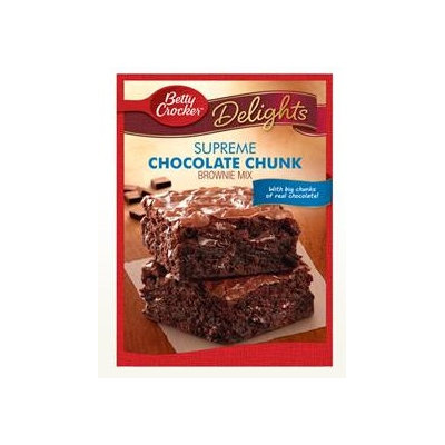 Betty Crocker™ Supreme Chocolate Chunk Brownie Mix