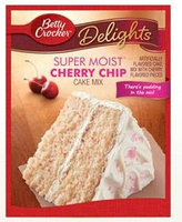 Betty Crocker™ Super Moist™ Delights Cherry Chip Cake Mix