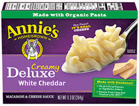 Annie's® Homegrown Creamy Deluxe Rotini & White Cheddar Sauce Macaroni Dinner
