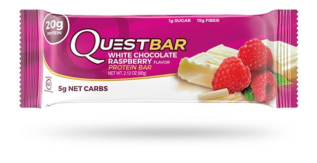 QUEST NUTRITION White Chocolate Raspberry Protein Bar