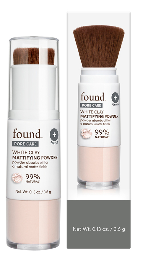 found™ PORE CARE White Clay Mattifying Powder