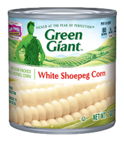 Green Giant® Whole Kernel White Shoepeg Corn Can
