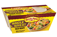 Old El Paso® Whole Wheat Taco Boats