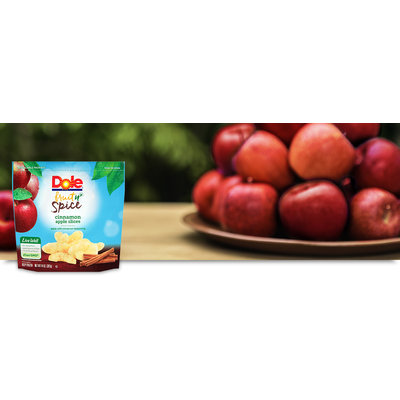 Dole Fruit n' Spice Cinnamon Apple Slices