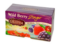 Celestial Seasonings® Wild Berry Zinger Herbal Tea Caffeine Free