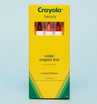 Crayola Beauty Color Crayon Trio Wild Fruits Lip & Cheek Crayons