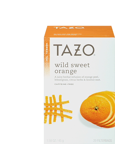 Tazo Wild Sweet Orange Herbal Tea