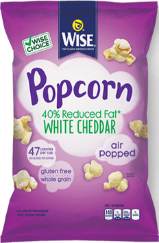Wise 40% Reduced Fat White Cheddar Popcorn