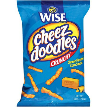 Wise Cheez Doodles Crunchy Cheese Flavored Corn Snacks