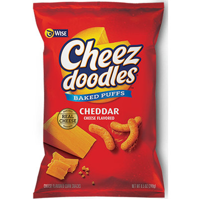Wise Cheez Doodles Puffed Baked Cheese Corn Snacks