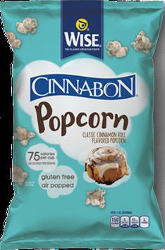Wise Air Popped Gluten Free Cinnabon Popcorn