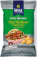 Wise Food Truck Favorites Beef Barbacoa Tacos Flavored Potato Chips