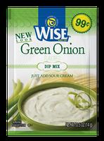 Wise Green Onion Dip Mix Sour Cream