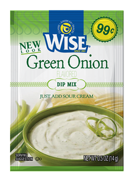 Wise Green Onion Dip Mix Sour Cream