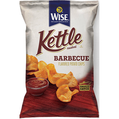 Wise Kettle Cooked Barbecue Flavored Potato Chips