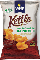 Wise Kettle Cooked Reduced Fat Barbecue Flavored Potato Chips
