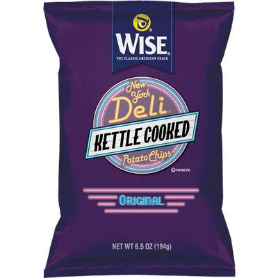 Wise New York Deli Kettle Cooked Original Potato Chips